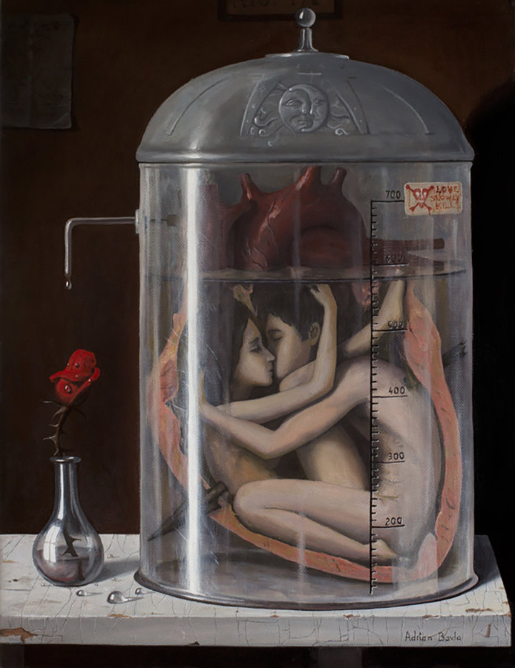"Адриан Борда (Adrian Borda), ""Love slowly kills"""