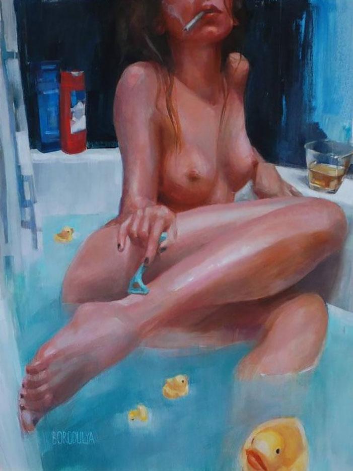 "Марина Бородуля (Marina Borodulya) ""Erotic art - 35"""