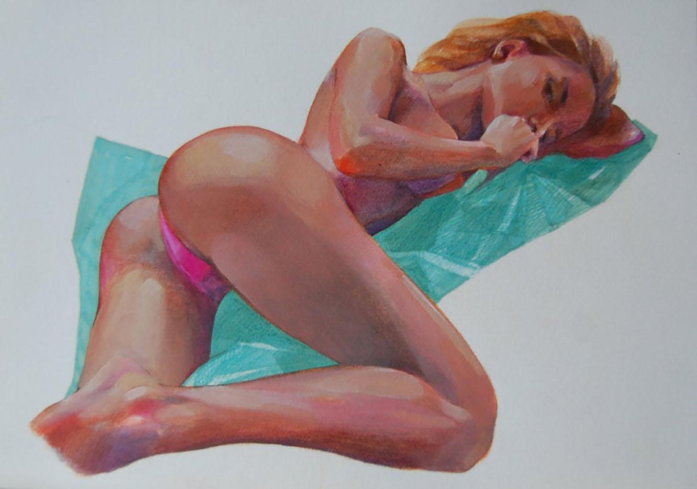 "Марина Бородуля (Marina Borodulya) ""Erotic art - 39"""