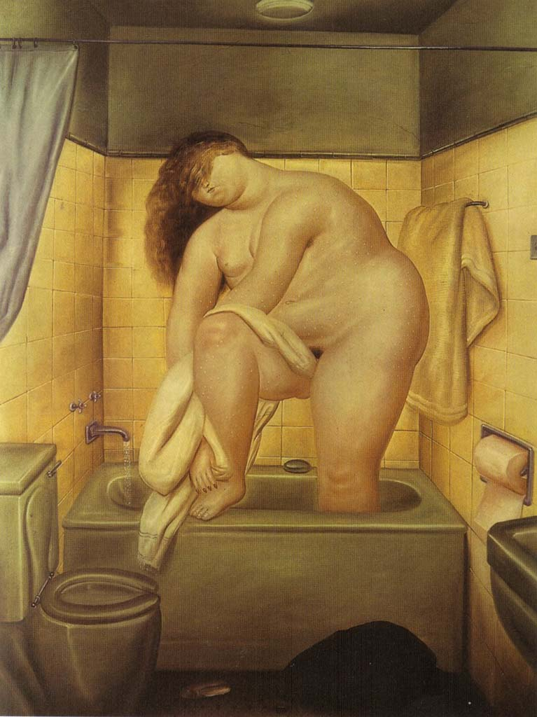 "Фернандо Ботеро (Fernando Botero) ""Tribute to Bonnard"""