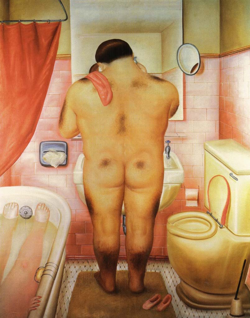 "Фернандо Ботеро (Fernando Botero) ""Tribute to Bonnard - 2"""