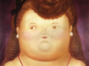 "Фернандо Ботеро (Fernando Botero) ""Girl Arc"""
