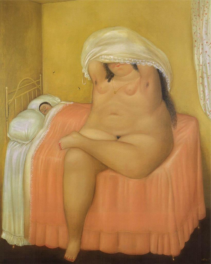 "Фернандо Ботеро (Fernando Botero) ""Влюбленные | Lovers"""