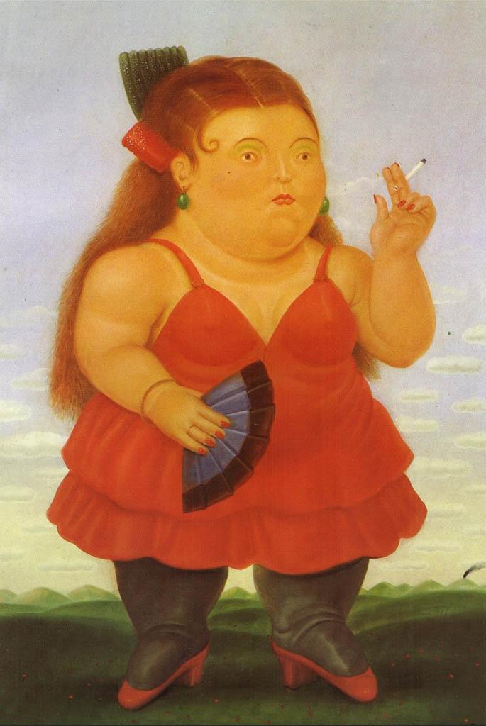 "Фернандо Ботеро (Fernando Botero) ""Spanish"""