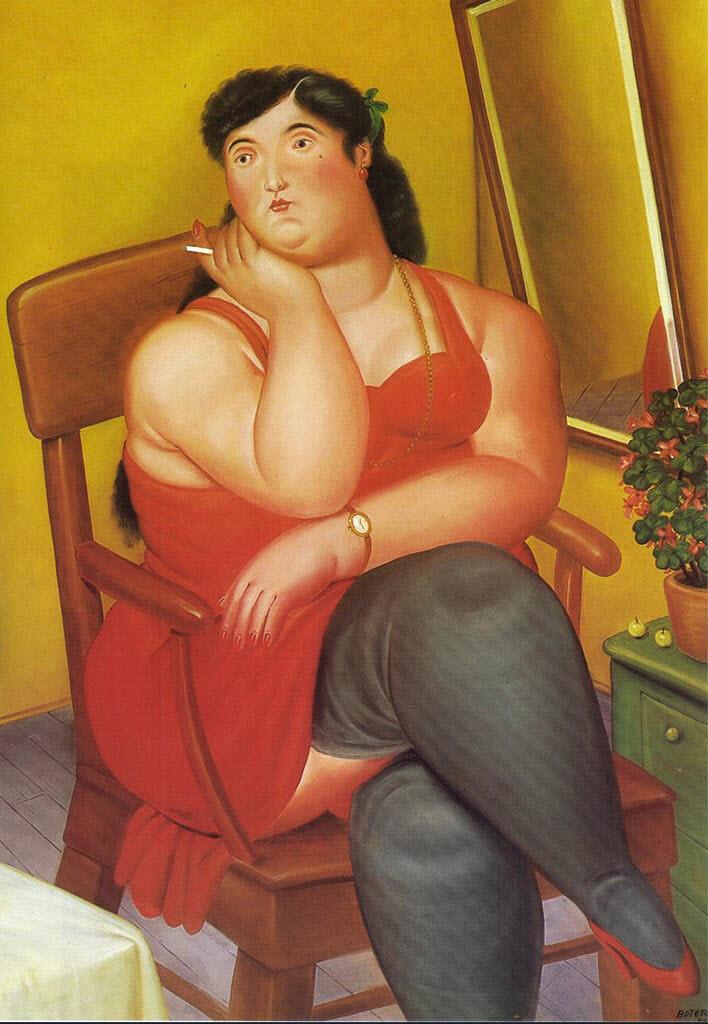 """Фернандо Ботеро (Fernando Botero) """"The Colombian-based"""""""
