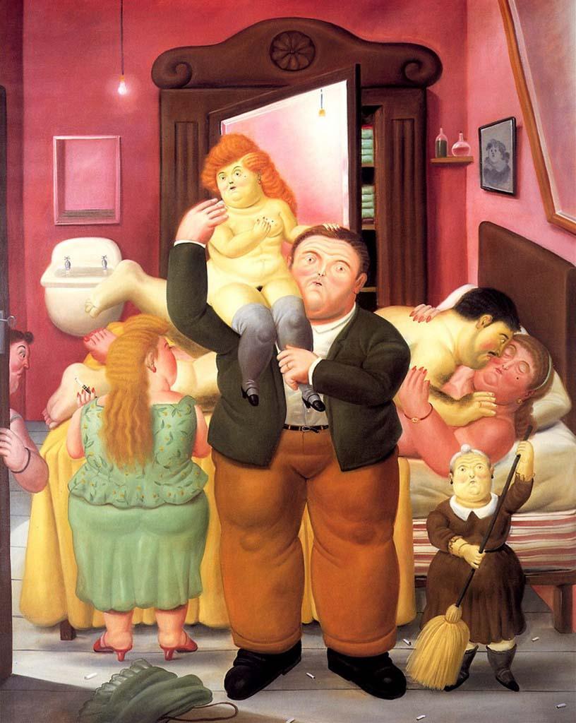 "Фернандо Ботеро (Fernando Botero) ""Дом Аманды Рамирес | The House of Amanda Ramirez"""