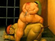 "Фернандо Ботеро (Fernando Botero) ""Абу-Грейб - 55 | Abu Ghraib - 55"""