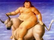 "Фернандо Ботеро (Fernando Botero) ""Похищение Европы - 2 | Abduction of Europa - 2"""