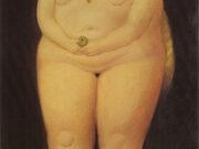 "Фернандо Ботеро (Fernando Botero) ""Ева | Adam and Eve (Eve)"""