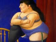 "Фернандо Ботеро (Fernando Botero) ""Спальня - 2 | Bedroom - 2"""