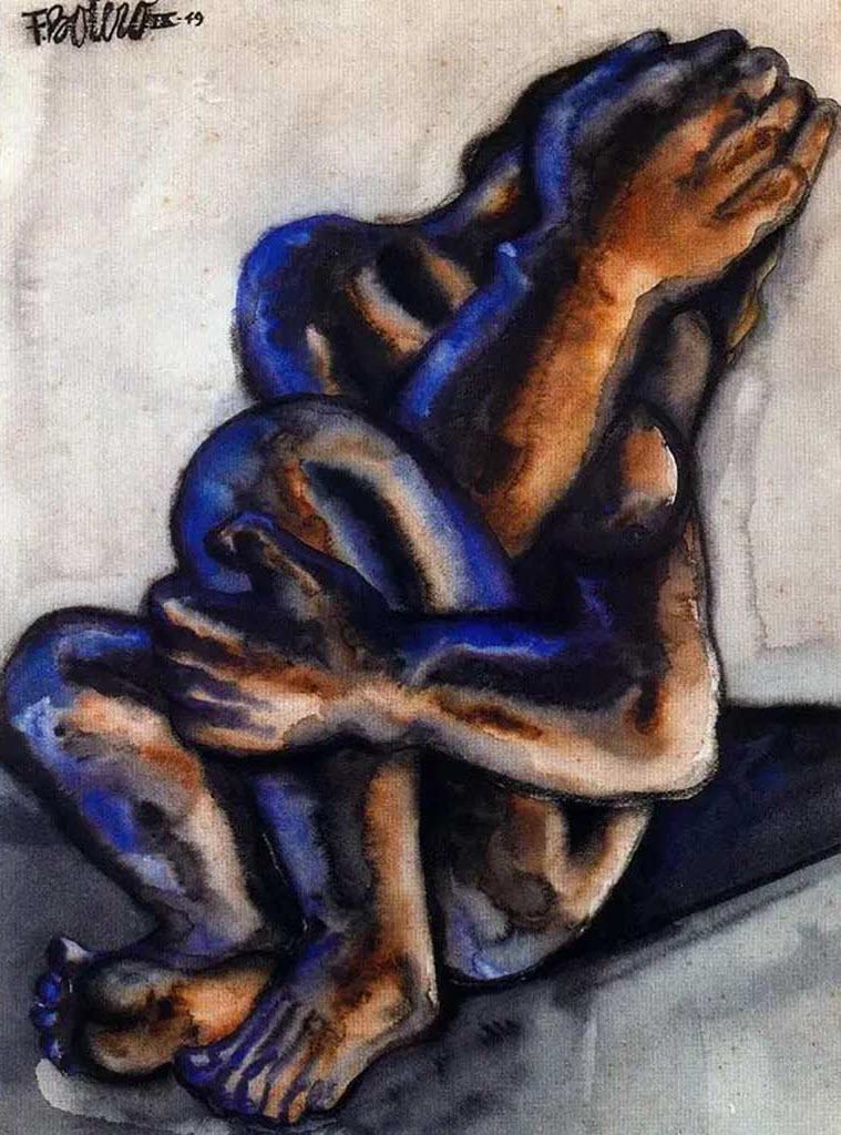 "Фернандо Ботеро (Fernando Botero) ""Плачущая женщина | Weeping Woman"""