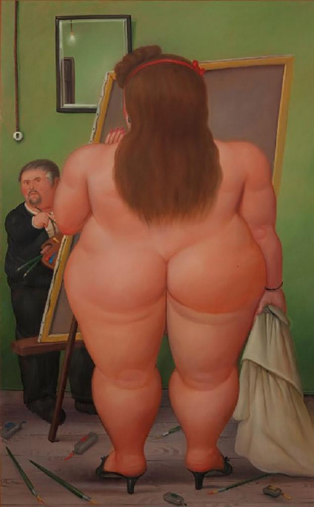 """Фернандо Ботеро (Fernando Botero) """"El estudio"""""""