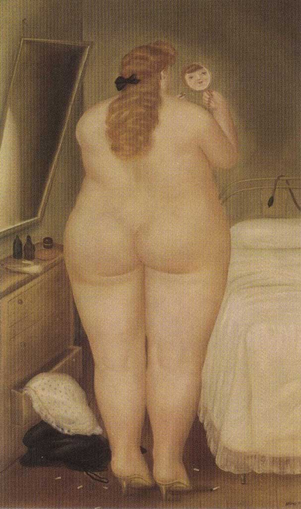 "Фернандо Ботеро (Fernando Botero) ""The Toilet in the Morning"""