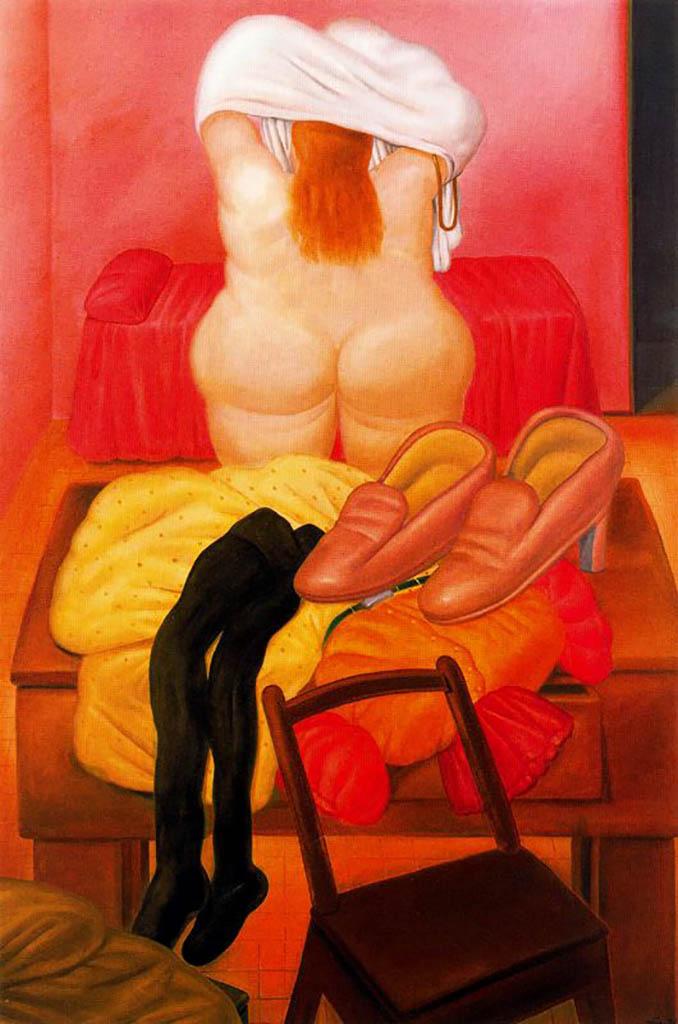 "Фернандо Ботеро (Fernando Botero) ""Без названия - 61 | Untitled - 61"""