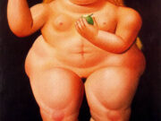 "Фернандо Ботеро (Fernando Botero) ""Без названия - 62 | Untitled - 62"""