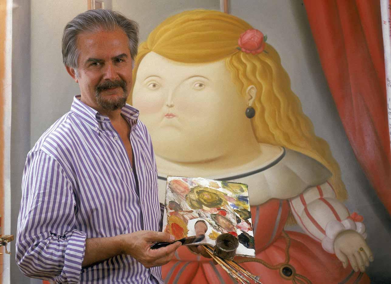 """Фернандо Ботеро (Fernando Botero) """"Photo - 2"""""""