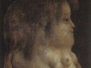 """Фернандо Ботеро (Fernando Botero) """"Silhouette Profile"""""""