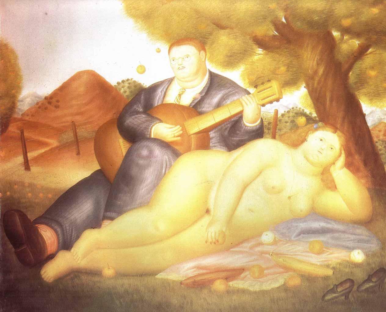 "Фернандо Ботеро (Fernando Botero) ""Concert in the Countryside"""