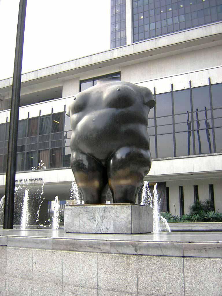 """Фернандо Ботеро (Fernando Botero) sculpture """"Torso de Mujer (La Gorda)   Woman torso"""""""