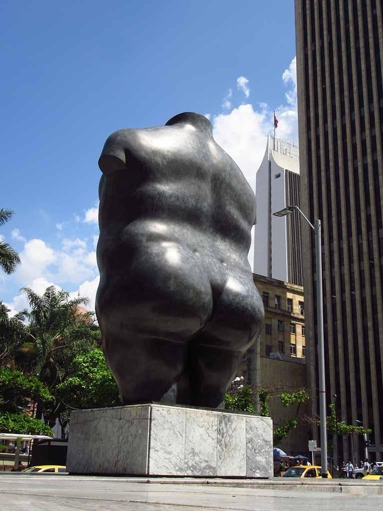 """Фернандо Ботеро (Fernando Botero) sculpture """"Torso de Mujer - 2 (La Gorda)   Woman torso - 2"""""""