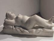 "Фернандо Ботеро (Fernando Botero) sculpture ""Reclining Woman"""