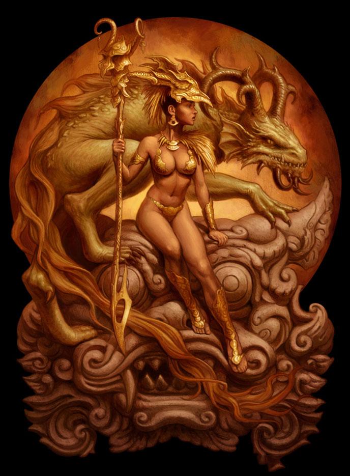 Янник Бушар (Yannick Bouchard), Dragon Priestess