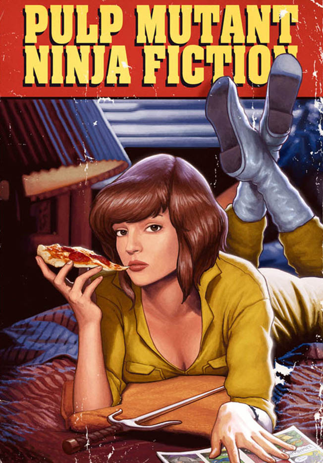 Янник Бушар (Yannick Bouchard), Pulp Mutant Ninja Fiction