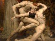 "Вильям Адольф Бугро (William Adolphe Bouguereau) ""Dante and Virgil in Hell"""