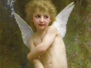 "Вильям Адольф Бугро (William Adolphe Bouguereau) ""L'amour pique"""