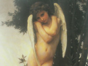 "Вильям Адольф Бугро (William Adolphe Bouguereau) ""Wet cupid (L'amour mouille)"""
