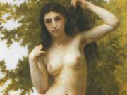 "Вильям Адольф Бугро (William Adolphe Bouguereau) ""Latin beauty (Beaute romane)"""