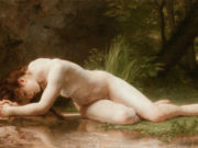 "Вильям Адольф Бугро (William Adolphe Bouguereau) ""Biblis"""