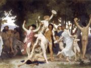 "Вильям Адольф Бугро (William Adolphe Bouguereau) ""Молодость Вакха 