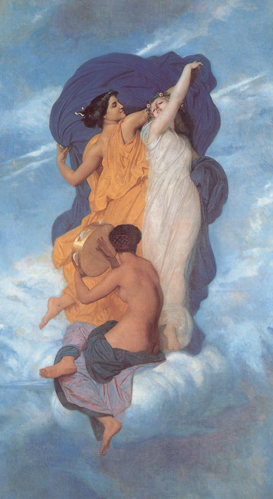 "Вильям Адольф Бугро (William Adolphe Bouguereau) ""The Dance"""