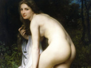 "Вильям Адольф Бугро (William Adolphe Bouguereau) ""The Bather (3)"""