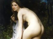 "Вильям Адольф Бугро (William Adolphe Bouguereau) ""The Bather (3)"""