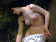 "Вильям Адольф Бугро (William Adolphe Bouguereau) ""After the Bath (2)"""