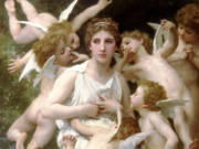 "Вильям Адольф Бугро (William Adolphe Bouguereau) ""Lassaut"""