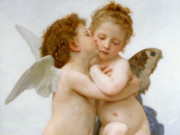 "Вильям Адольф Бугро (William Adolphe Bouguereau) ""Cupid and Psyche """