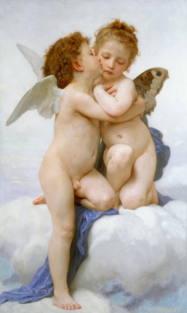 "Вильям Адольф Бугро (William Adolphe Bouguereau) ""Cupid and Psyche """