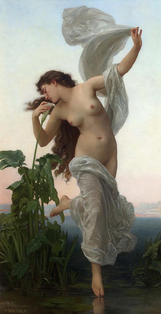 "Вильям Адольф Бугро (William Adolphe Bouguereau) ""Рассвет | Dawn"""
