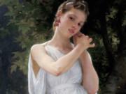 "Вильям Адольф Бугро (William Adolphe Bouguereau) ""Серёжки | Earrings"""