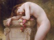 """Вильям Адольф Бугро (William Adolphe Bouguereau) """"Elegy"""""""