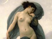"Вильям Адольф Бугро (William Adolphe Bouguereau) ""Twilight or Dusk or Evening Mood"""