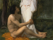 "Вильям Адольф Бугро (William Adolphe Bouguereau) ""Idylle"""