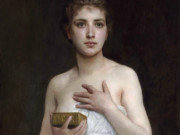 "Вильям Адольф Бугро (William Adolphe Bouguereau) ""Пандора 
