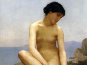"Вильям Адольф Бугро (William Adolphe Bouguereau) ""The Bather (4)"""