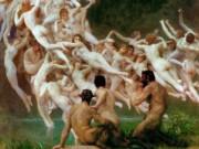 "Вильям Адольф Бугро (William Adolphe Bouguereau) ""Ореады | The Oreads"""