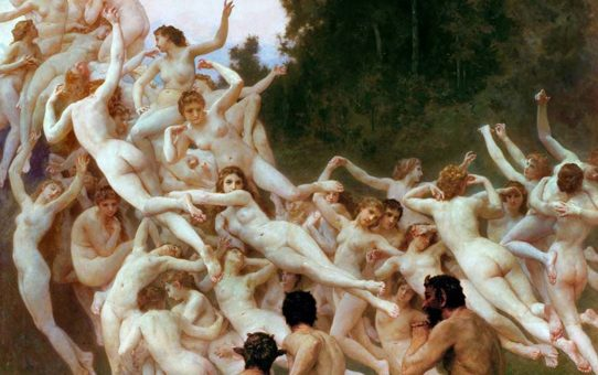 "Вильям Адольф Бугро (William Adolphe Bouguereau) ""Ореады 