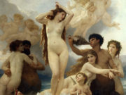"Вильям Адольф Бугро (William Adolphe Bouguereau) ""Рождение Венеры 